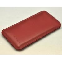 Кожаный мешок для Sony Xperia Z3 Compact Красный
