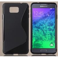 Силиконовый S чехол для Samsung Galaxy Alpha
