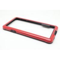 Силиконовый бампер для Samsung Galaxy Alpha Красный