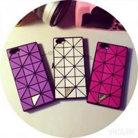 Силиконовый дизайнерский чехол с текстурой ромбы для Iphone 6 Plus