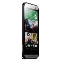 Металлический бампер для HTC One (M8) Черный