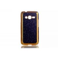 Пластиковый чехол серия Fashion для Samsung Galaxy Ace 4 Черный