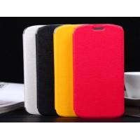 Текстурный чехол флип-подставка для Alcatel One Touch Pop C7