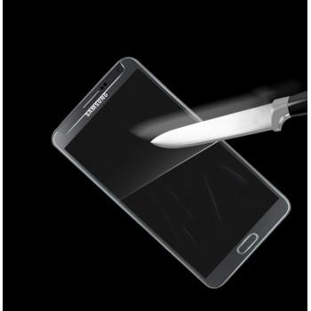 Ультратонкое износоустойчивое сколостойкое олеофобное защитное стекло-пленка для Samsung Galaxy Ace 3