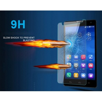Ультратонкое износоустойчивое сколостойкое олеофобное защитное стекло-пленка для Nokia Lumia 620
