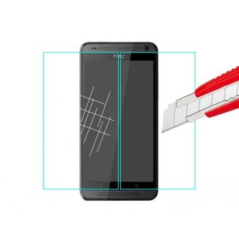 Ультратонкое износоустойчивое сколостойкое олеофобное защитное стекло-пленка для HTC Desre 700