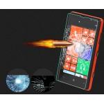 Ультратонкое износоустойчивое сколостойкое олеофобное защитное стекло-пленка для Nokia Lumia 820