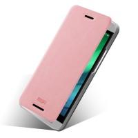 Чехол флип подставка водоотталкивающий для HTC One E8 Розовый