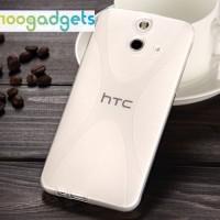 Силиконовый X чехол для HTC One E8 Белый