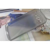 Силиконовый X чехол для Alcatel One Touch Pop C9 Серый
