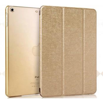Чехол смарт флип подставка сегментарный текстурный с глянцевым покрытием Glossy Shield и пластиковой основой для Ipad Mini 3