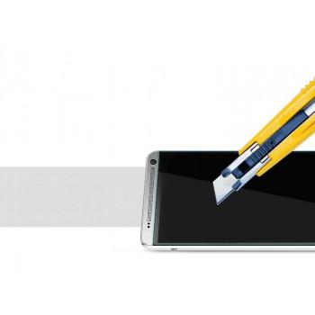 Ультратонкое износоустойчивое сколостойкое олеофобное защитное стекло-пленка для HTC One Max