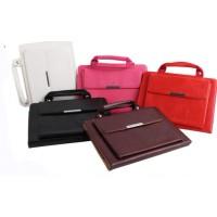 Чехол подставка/сумка с внешним карманом для планшета Ipad Air 2