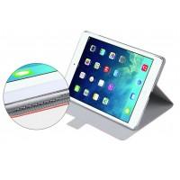 Роторный чехол смарт флип подставка с магнитной застежкой на транспарентной пластиковой основе для планшета Ipad Air 2