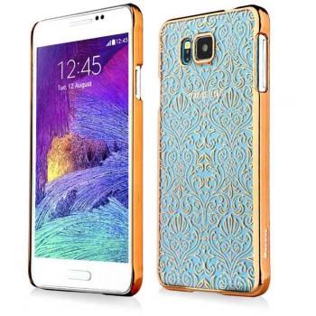 Узорный премиум полупрозрачный пластиковый чехол для Samsung Galaxy Alpha