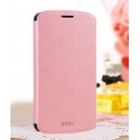 Чехол флип подставка водоотталкивающий для Lenovo A859 Ideaphone Розовый