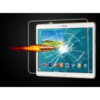 Ультратонкое износоустойчивое сколостойкое олеофобное защитное стекло-пленка для Samsung Galaxy Tab 4 10.1