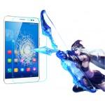 Ультратонкое износоустойчивое сколостойкое олеофобное защитное стекло-пленка для Huawei MediaPad X1 7.0