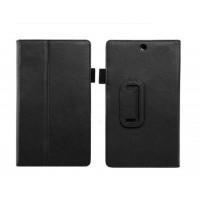 Кожаный чехол папка-подставка для Sony Xperia Z3 Tablet Compact Черный