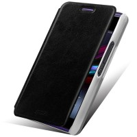 Чехол флип водоотталкивающий для Sony Xperia E1 Черный
