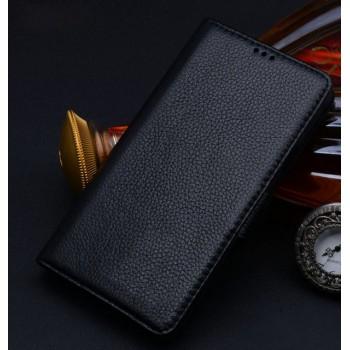 Кожаный чехол портмоне (нат. кожа) для Samsung Galaxy Note Edge
