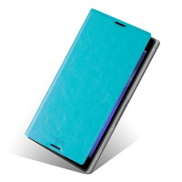 Чехол флип водоотталкивающий для Sony Xperia T2 Ultra Голубой