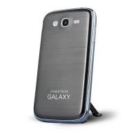 Металлический встраиваемый чехол накладка с шлифованным дизайном для Samsung Galaxy Grand