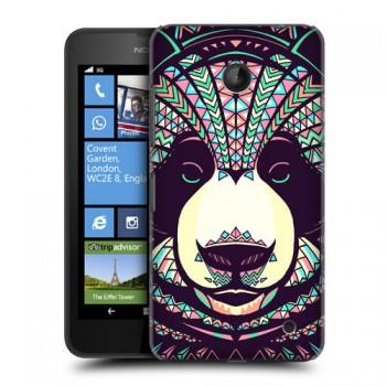 Пластиковый дизайнерский чехол с принтом серия Animals для Nokia Lumia 630