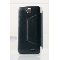 Чехол книжка-подставка для HTC Desire 310 серия Sense Черный