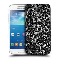 Пластиковый матовый износостойкий дизайнерский чехол Laces для Samsung Galaxy S4 Mini
