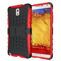 Силиконовый чехол экстрим защита для Samsung Galaxy Note 3 Красный