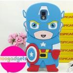 Силиконовый дизайнерский фигурный чехол серия Superheroes для Samsung Galaxy Note 3