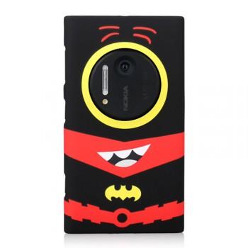 Пластиковый износостойкий матовый дизайнерский чехол с принтом SuperMinions для Nokia Lumia 1020