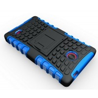Чехол экстрим защита для Nokia X / X+ Синий