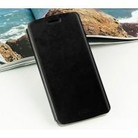 Чехол флип подставка водоотталкивающий для Google Nexus 6 Черный
