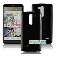 Силиконовый матовый полупрозрачный чехол для LG G3 Stylus