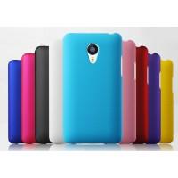 Пластиковый матовый непрозрачный чехол для Meizu MX4 Pro
