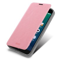 Чехол флип подставка водоотталкивающий для Meizu MX4 Pro Розовый