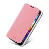 Чехол флип подставка водоотталкивающий для Samsung Galaxy S5 Mini Розовый