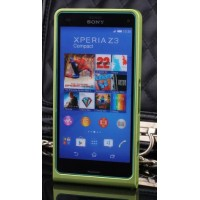 Металлический бампер для Sony Xperia Z3 Compact Зеленый