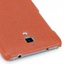 Кожаный чехол накладка (нат. кожа) серия Back Cover для Xiaomi Mi4