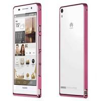 Ультратонкий бампер для Huawei Ascend P6 Розовый