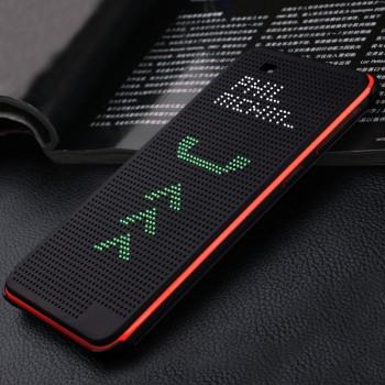 Точечный чехол смарт-флип с функциями оповещения для HTC Desire Eye