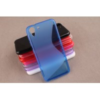 Силиконовый S чехол для HTC Desire Eye Синий