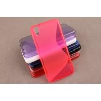 Силиконовый S чехол для HTC Desire Eye Пурпурный
