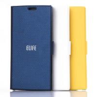 Оригинальный чехол флип подставка текстурный на пластиковой основе с магнитной защелкой для Prestigio Multiphone Grace 7557
