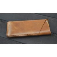 Кожаный дизайнерский z-образный мешок для Samsung Galaxy Note Edge Коричневый