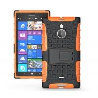 Чехол экстрим-защиты для Nokia Lumia 1520 Оранжевый