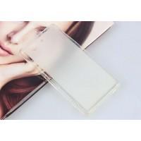 Силиконовый матовый полупрозрачный чехол для Sony Xperia Z3 Compact Белый