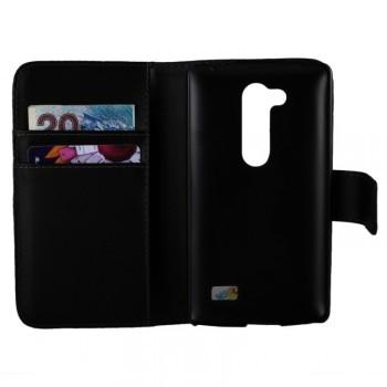 Чехол портмоне подставка с защелкой для LG L Fino